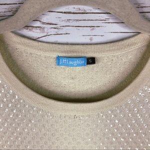J. McLaughlin Tops - J. McLaughlin sequin short sleeve model blend top